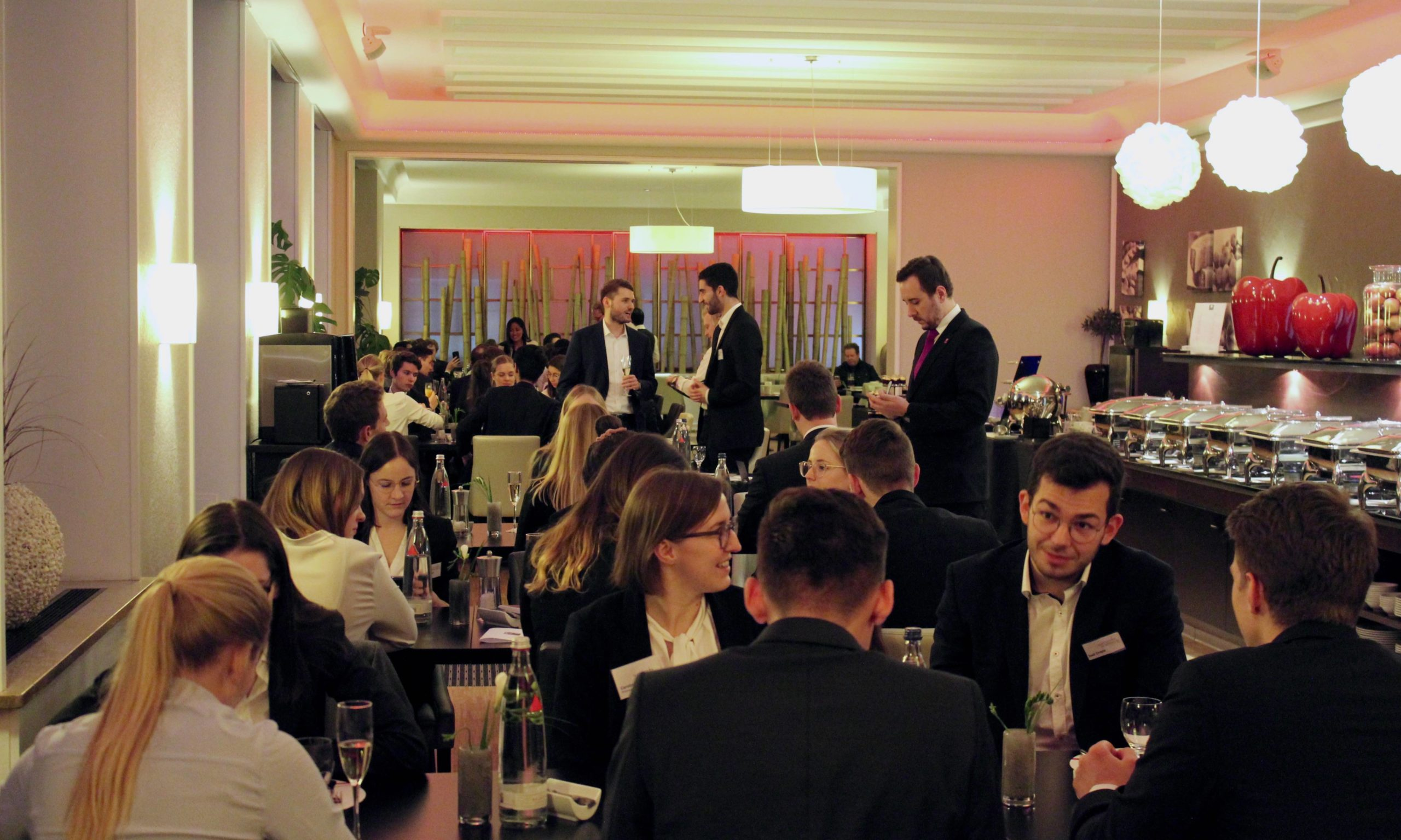 Business Dinner des Mannheim Symposiums 2020 von INTEGRA e.V: